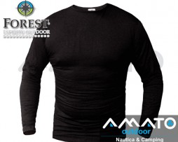Camiseta Termica Forest Leather Manga Larga Bamboo