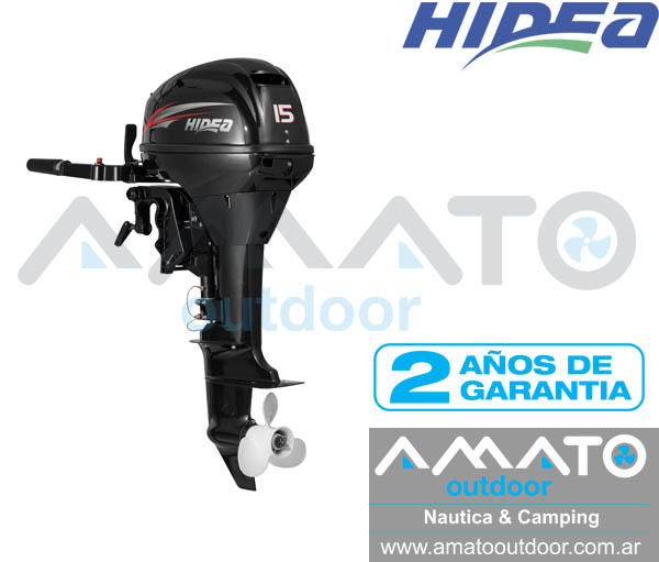 Motor Fuera De Borda Hidea 15 Hp 2t Pata Corta Manual