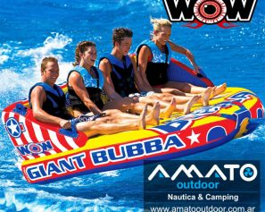 Inflable de Arrastre Wow Giant Bubba 4 Personas