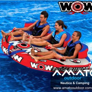 Inflable de Arrastre Wow Wild Bunch 3 personas
