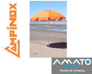 Sombrilla Reclinable Campinox 2.00 mts de altura