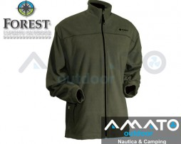 Campera Forest Leather Micropolar Huanel