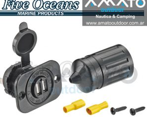 Cargador Usb Five Oceans Waterproof