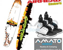 Tabla de Wakeboard Airhead Grafitti City + Botas Airhead Primo