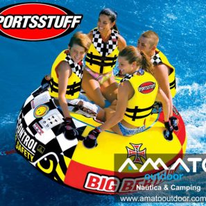 Inflable de Arrastre Sportsstuff Big Bertha 4 personas