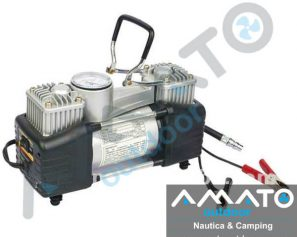 Compresor Aire Doble Piston 12v Alta Calidad