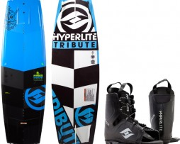 Tabla De Wakeboard Hyperlite Tribute 137 Con Botas Frequency