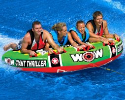 Inflable De Arrastre Wow Giant Thriller 4 Personas