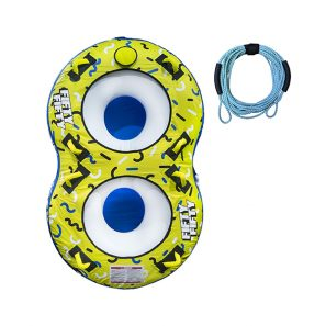 Inflable De Arrastre Fifty Fifty Torque Marine Con Soga