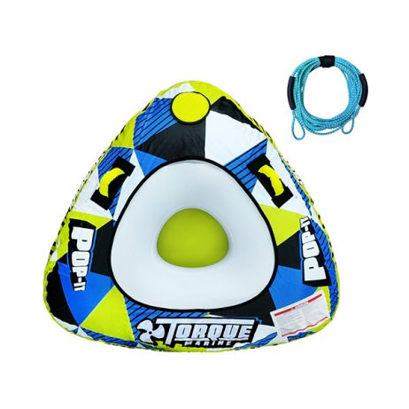 Inflable De Arrastre Torque Marine Pop It Con Soga