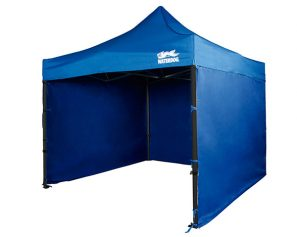Gazebo Plegable Waterdog 3x3 Mts Con 3 Paredes Laterales